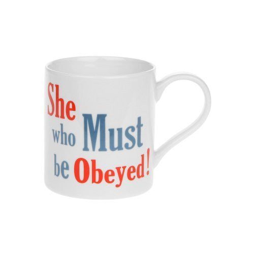 Bad Attitude Mug - She Who Must Be Obey! - hanrattycraftsgifts.co.uk