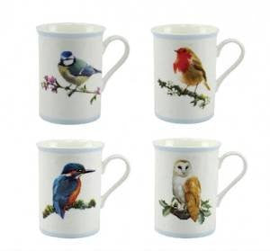 MacNeil Birtish Birds Fine China Mug in Gift Box