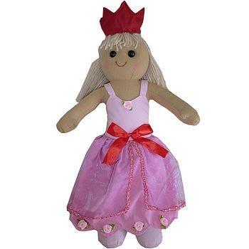 Princess Rag Doll - hanrattycraftsgifts.co.uk