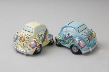 vw beetle money box choice two colours funky one sent at random or msg any choice - hanrattycraftsgifts.co.uk