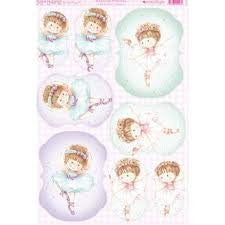 Kanban Ballerina Princess Toppers - hanrattycraftsgifts.co.uk