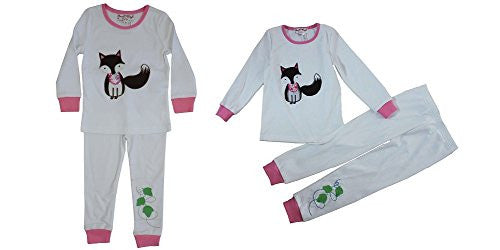 fox pyjamas cotton - hanrattycraftsgifts.co.uk