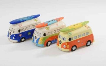 lets go surfing camper van money box choice three colours sent at random - hanrattycraftsgifts.co.uk