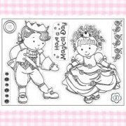kanban sugar buttons clear stamp have magical day - hanrattycraftsgifts.co.uk