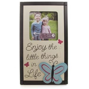 New View Enjoy the Little Things 4 x 4 Photo Frame