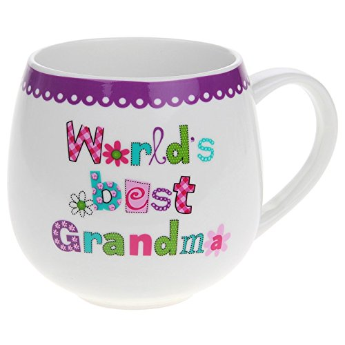 Worlds best Grandma mug gift - hanrattycraftsgifts.co.uk
