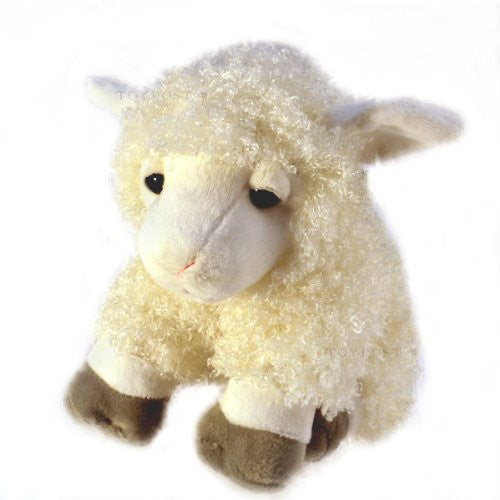 Sheep with Wooly Coat, Plush Soft Toy, Keel Toys - hanrattycraftsgifts.co.uk