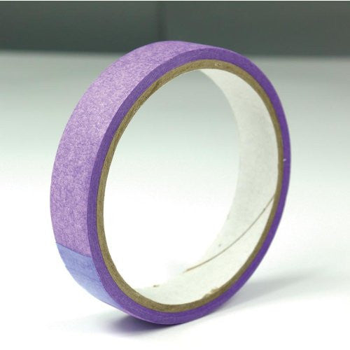 purple low tack tape 19mmx10metre rolls 2packs(2 rolls) - hanrattycraftsgifts.co.uk