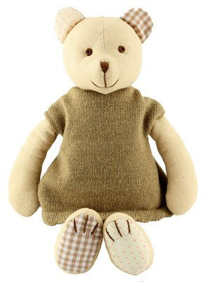 Imajo Soft Toy Bear - hanrattycraftsgifts.co.uk