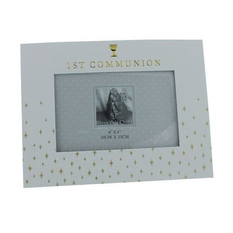 "Bambino By Juliana Photo Frame - 1st Communion Chalice - 6"" x 4"" - CG1214 - New"