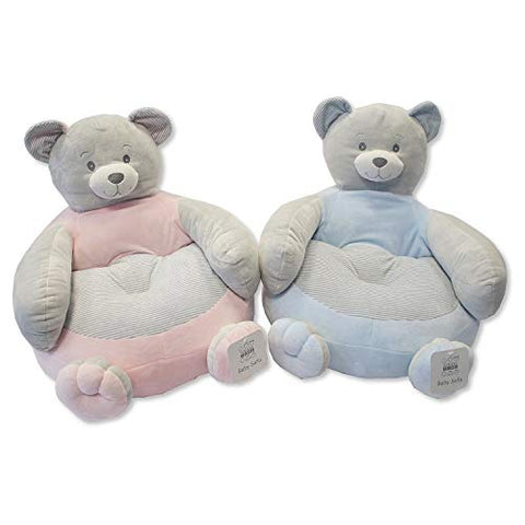 Baby Soft Sofa/Chair- Bear Pink x one