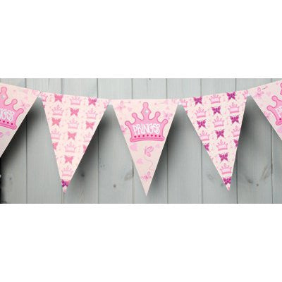 Princess design bunting - 3m