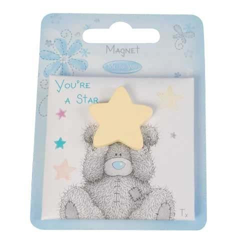 You're a Star Me to You Bear Magnet by Me To You - hanrattycraftsgifts.co.uk