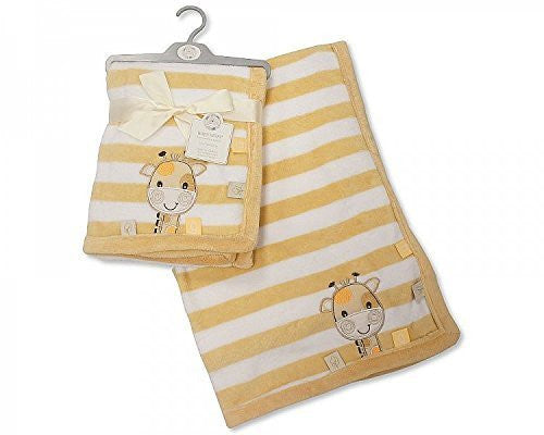 baby wrap stripes with giraffe - hanrattycraftsgifts.co.uk