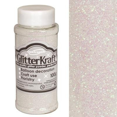 Balloon Decoration/ Craft Glitter - Glitter Kraft Iridescent Powder 100g