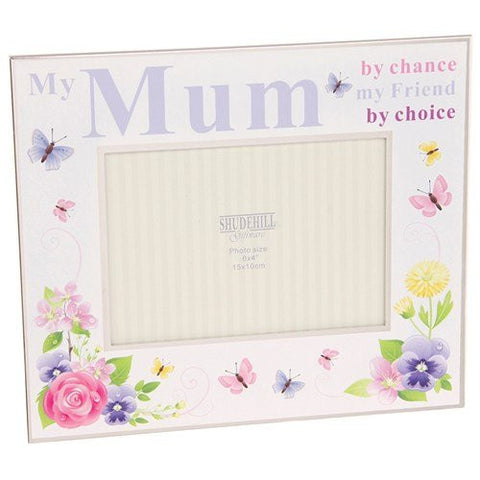 my mum frame by choice my friend by choice - hanrattycraftsgifts.co.uk