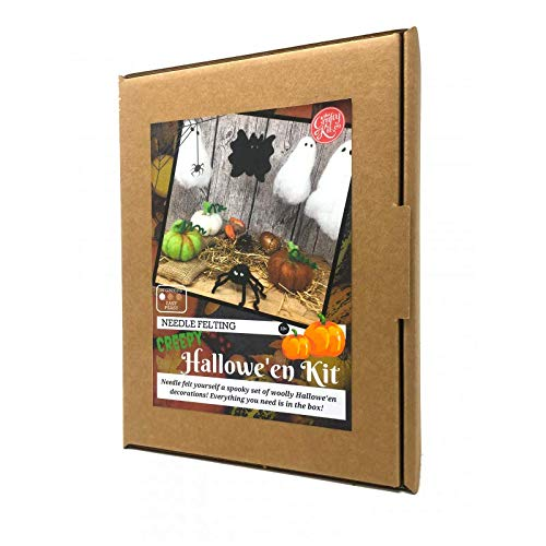 Hallowe'en Needle Felting Kit - hanrattycraftsgifts.co.uk