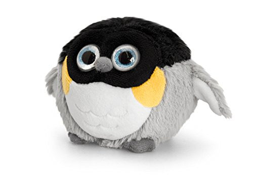 10cm Adoraball Penguin Black and Grey