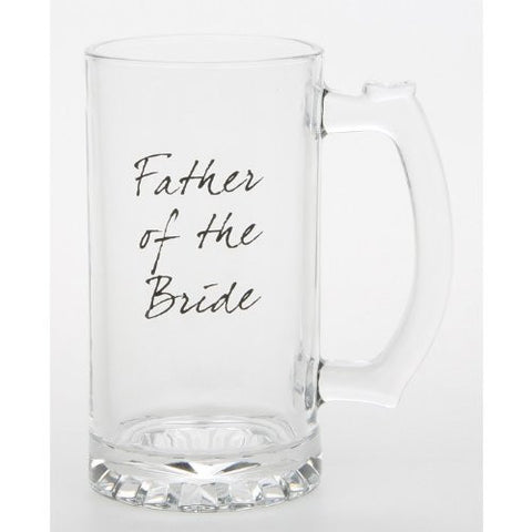 Father of the Bride Wedding Tankard Thank You Gift (LP33195) - hanrattycraftsgifts.co.uk