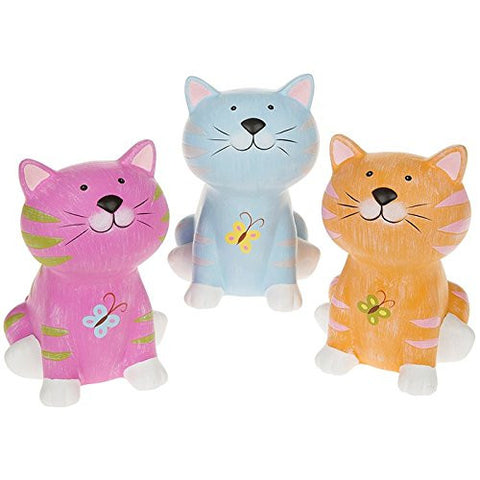 funky cat money box one supplied