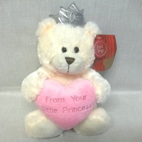 FROM YOUR LITTLE PRINCESS Plush Soft Toy - hanrattycraftsgifts.co.uk