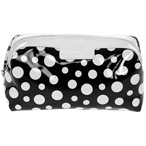 dotty black cosmetic bag - hanrattycraftsgifts.co.uk