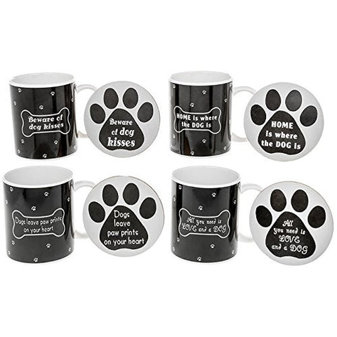 Dog Lover Mug And Coaster one supplied