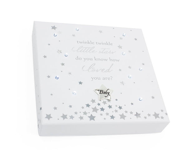 Baby Sentiment Plaque Light Up Twinkle Twinkle Little Star - hanrattycraftsgifts.co.uk
