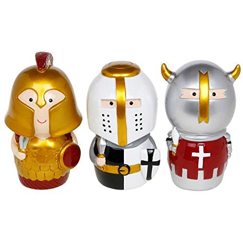 knight in armour moneybox one supplied - hanrattycraftsgifts.co.uk