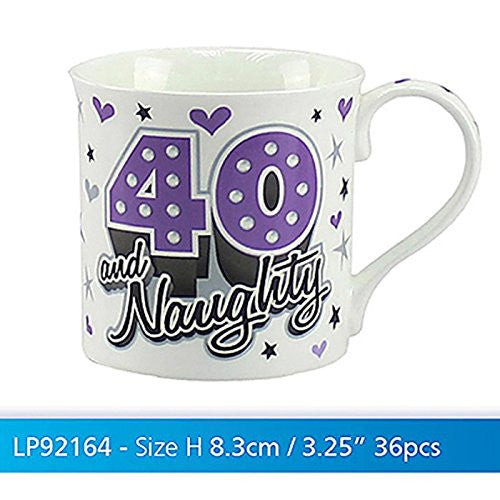 Birthday Mug Naughty 40