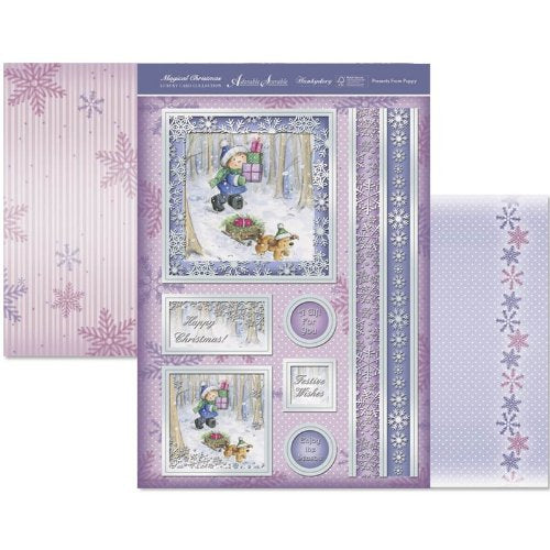 hunkydory adorable scorable luxury card collection magical christmas - hanrattycraftsgifts.co.uk
