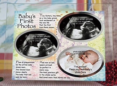 Baby's First Photos Frame with Poem
