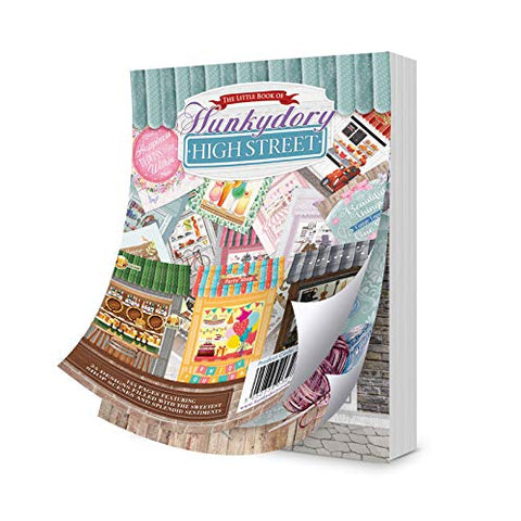 Hunkydory The Little Book Of A6 Paper Pad 144/Pkg-High Street, 24 Designs/6 Each - hanrattycraftsgifts.co.uk