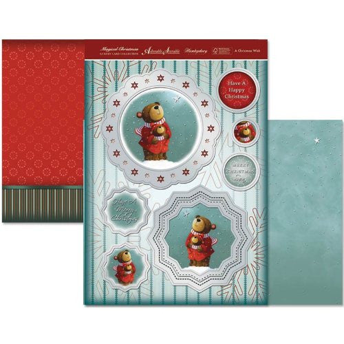 hunkydory adorable scorable luxury card collection magical christmas a christmas wish - hanrattycraftsgifts.co.uk