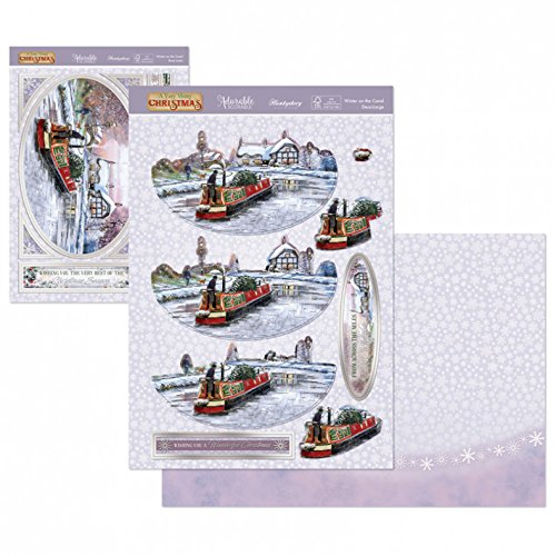 Winter on the Canal Deco-Large Set - hanrattycraftsgifts.co.uk