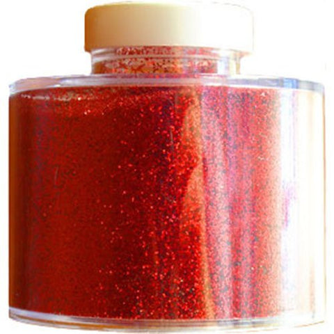 Large Red Glitter Pot (100gm)