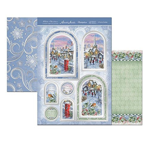 hunkydory adorable scorable white christmas a snowy sunday - hanrattycraftsgifts.co.uk