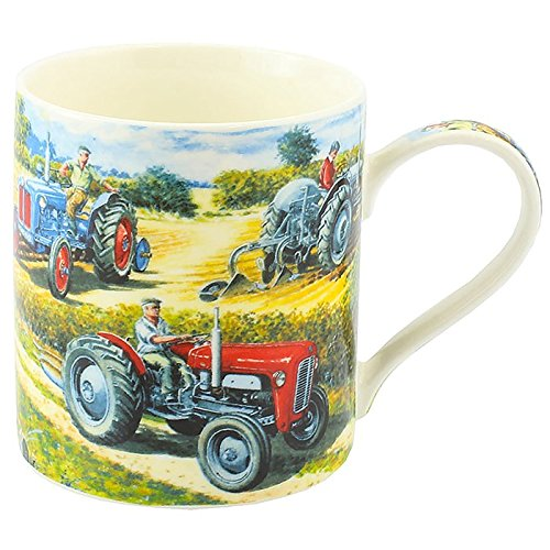 COUNTRY LIFE TRACTORS MUG - hanrattycraftsgifts.co.uk