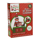 Wooden Elf Advent Counter - hanrattycraftsgifts.co.uk