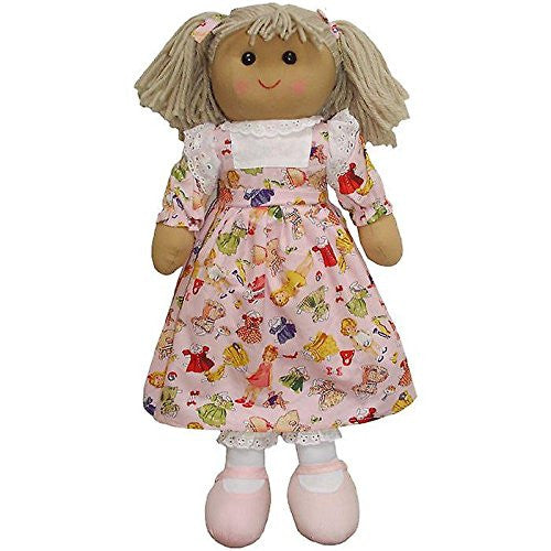 Powell Craft Rag Doll Dolly Fabric Large PCRDL-DF - hanrattycraftsgifts.co.uk