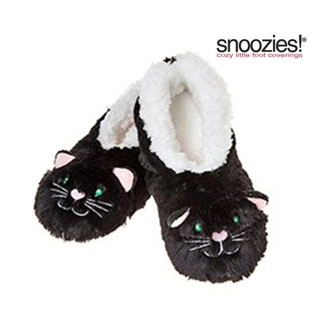 Childrens Animal Snoozies Soft Sherpa Fleece Fluffy Slippers - hanrattycraftsgifts.co.uk
