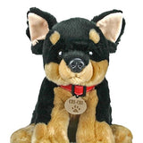 Keel Toys SD0470 Chihuahua, Brown, 35 cm - hanrattycraftsgifts.co.uk