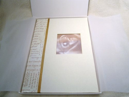 wedding guest book plain pages