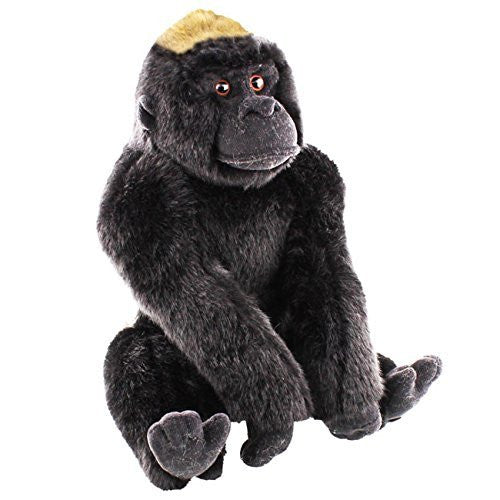 "Deluxe Animal Planet Soft Toy - Brown Gorilla (16""/40cm) - hanrattycraftsgifts.co.uk"
