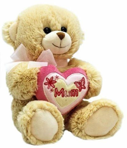 keel toys  bear with heart 35cm
