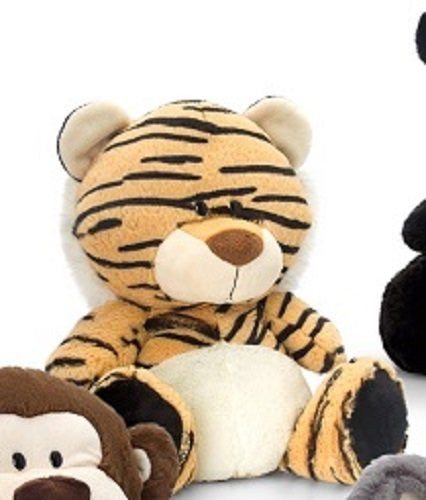 Keel Toys 20cm Pudgey Wild Tiger Soft Toy