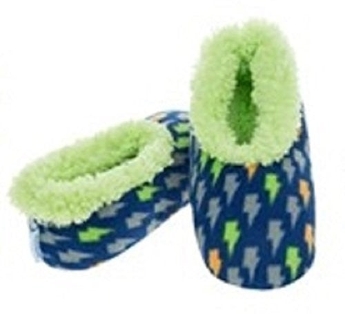 Boys Childrens Snoozies Assorted Designs Small Medium Large Novelty Slippers