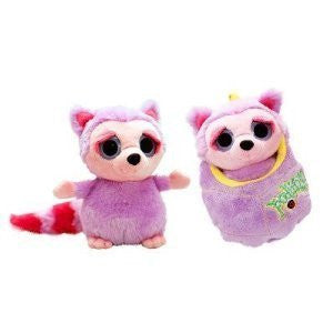 Keel Toys Podlings - Periwinkle the Raccoon - hanrattycraftsgifts.co.uk