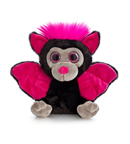 Keel Toys 25cm Moonlings Bat Black & Pink - hanrattycraftsgifts.co.uk