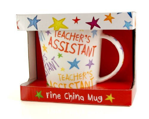 Teacher's Assistant thank you Ceramic Mug Gift Boxed - hanrattycraftsgifts.co.uk